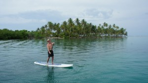 Stand up Paddleboarding in San Blas