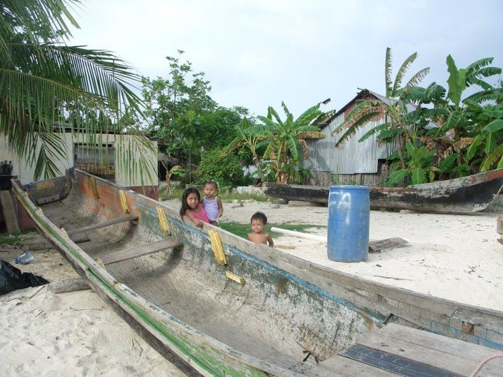 Children in San Blas Islands