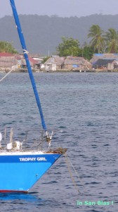 Trophy Girl sails San Blas